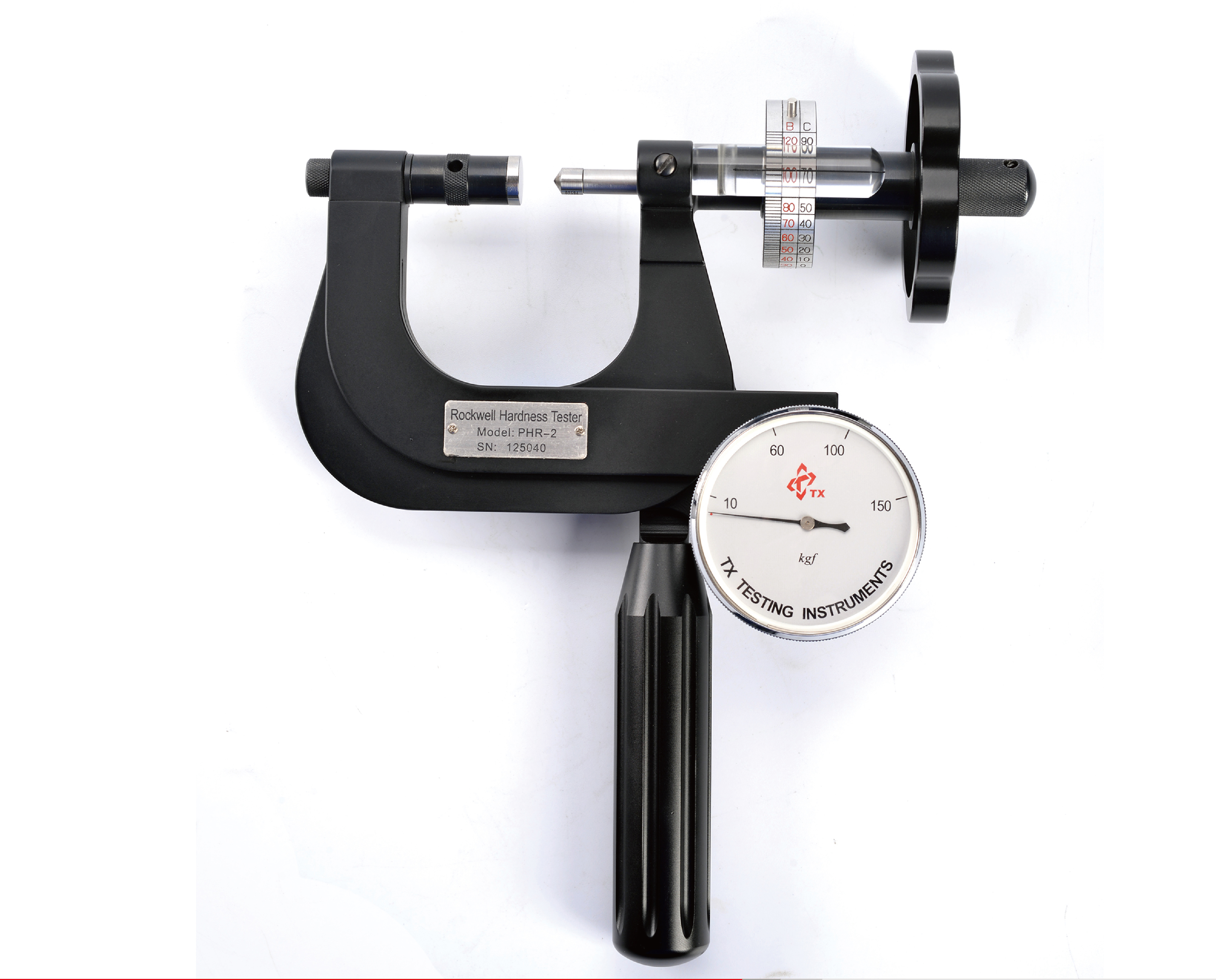 Solution of Portable Rockwell Hardness Tester